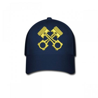 Golden Embroidered Baseball Cap Designed By Madhatter