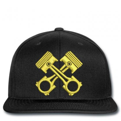 Golden Embroidered Snapback Designed By Madhatter