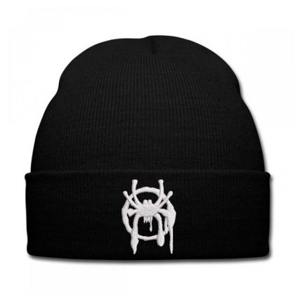 Spıder Embroidered Knit Cap Designed By Madhatter