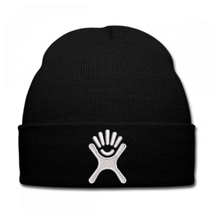 Icon Embroidered Knit Cap Designed By Madhatter