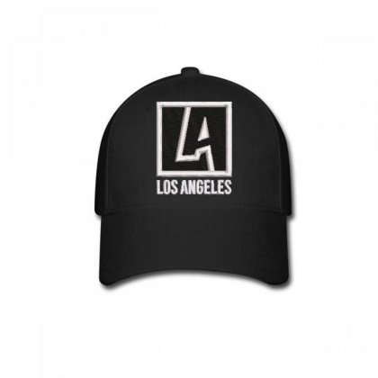 Los Angeles Embroidered Baseball Cap Designed By Madhatter