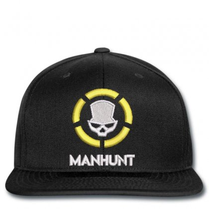 Manhunt Embroidered Snapback Designed By Madhatter