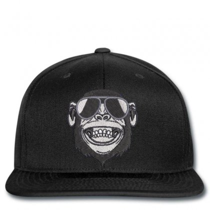 Crazy  Monkey Embroidered Snapback Designed By Madhatter