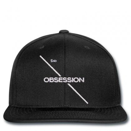 Obsessıon Embroidered Snapback Designed By Madhatter