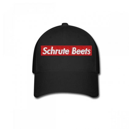 Schrute  Beets Embroidered Baseball Cap Designed By Madhatter