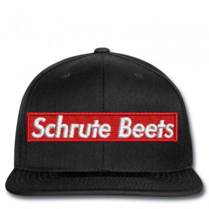 Schrute  Beets Embroidered Snapback Designed By Madhatter