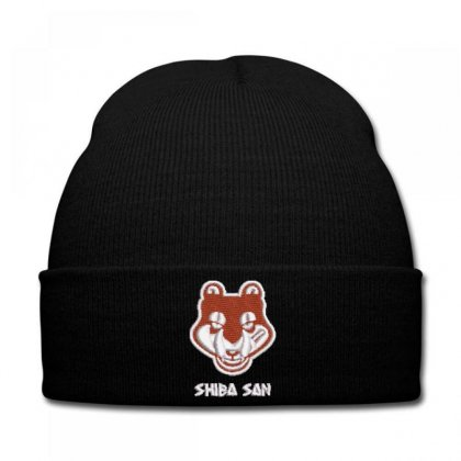 Shıba  San Embroidered Knit Cap Designed By Madhatter