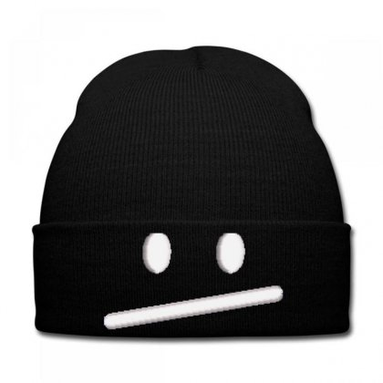 Serıous Embroidered Knit Cap Designed By Madhatter