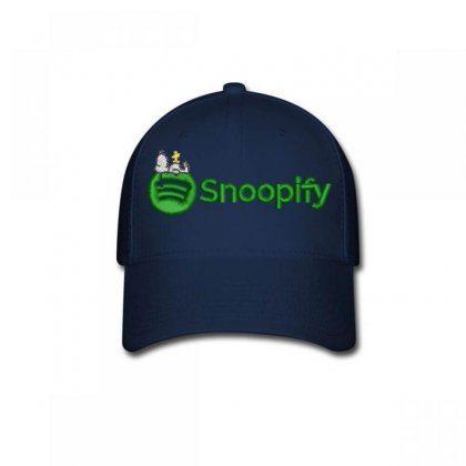 Snoopıfy Embroidered Baseball Cap Designed By Madhatter