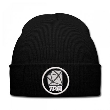 Tdm Embroidered Knit Cap Designed By Madhatter