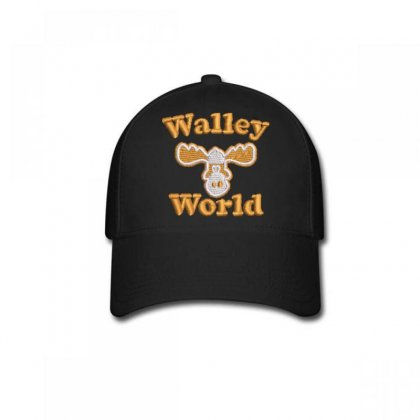 Walley  World Embroidered Baseball Cap Designed By Madhatter