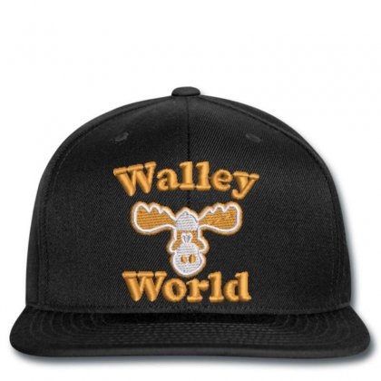 Walley  World Embroidered Snapback Designed By Madhatter