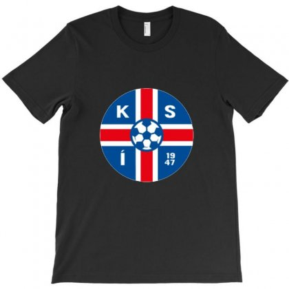 Iceland Football Logo T-shirt Designed By Willo