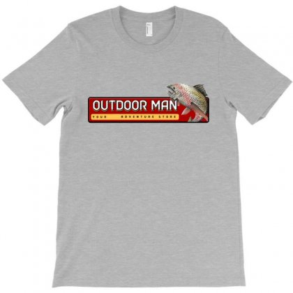 Outdoor Man Merchandise T-shirt Designed By Willo