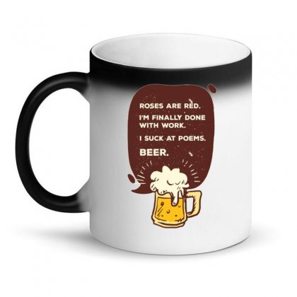 Beer Poem Magic Mug Designed By Daraart