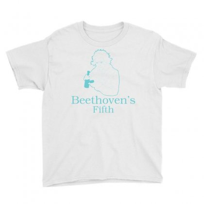 Beethoven's Fifth Youth Tee Designed By Daraart