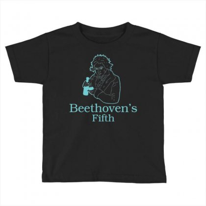 Beethoven's Fifth Toddler T-shirt Designed By Daraart