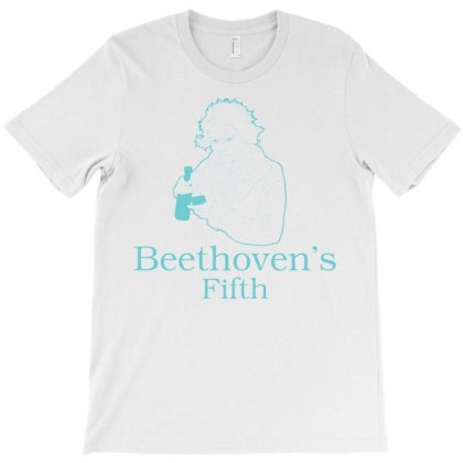 Beethoven's Fifth T-shirt Designed By Daraart