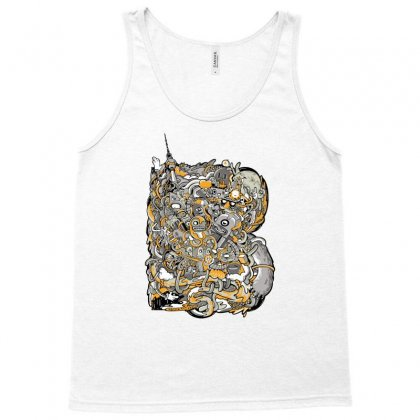 Berlin Bold Tank Top Designed By Daraart