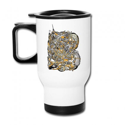 Berlin Bold Travel Mug Designed By Daraart