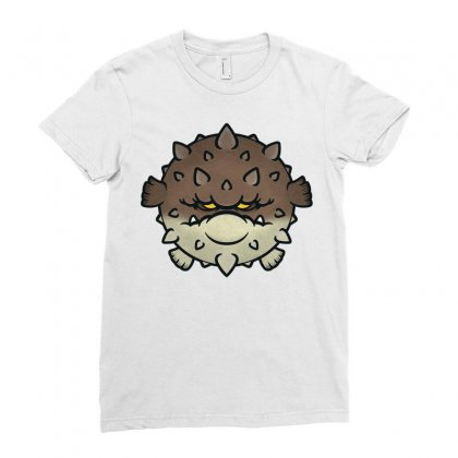 Blowfish Ladies Fitted T-shirt Designed By Daraart