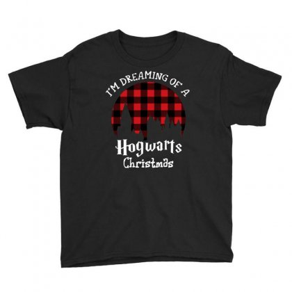 I'm Dreaming Of A Hogwarts Christmas For Dark Youth Tee Designed By Sengul