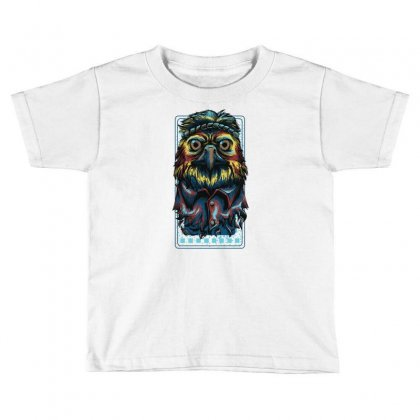 Colorful Eagle Toddler T-shirt Designed By Daraart