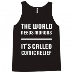 comic relief Tank Top | Artistshot