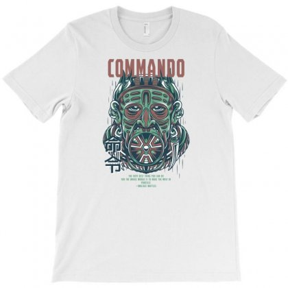 Commando Light T-shirt Designed By Daraart