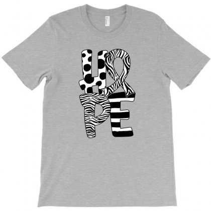Hope Watercolor Carcinoid Cancer T-shirt Designed By Honeysuckle