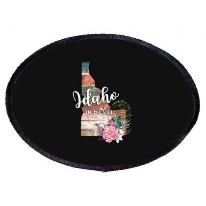 Idaho In My Soul For Oval Patch Designed By Honeysuckle