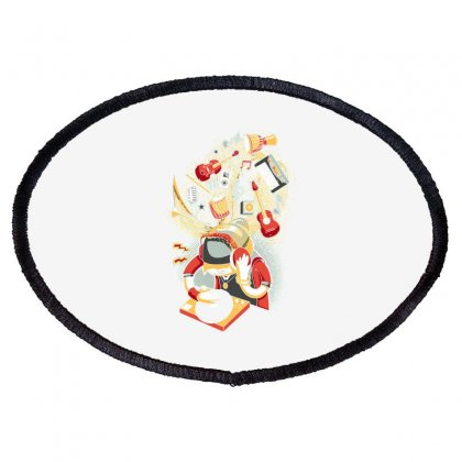 Dance Oval Patch Designed By Daraart