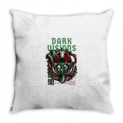 dark visions light Throw Pillow | Artistshot