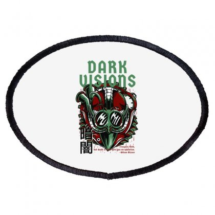 Dark Visions Light Oval Patch Designed By Daraart