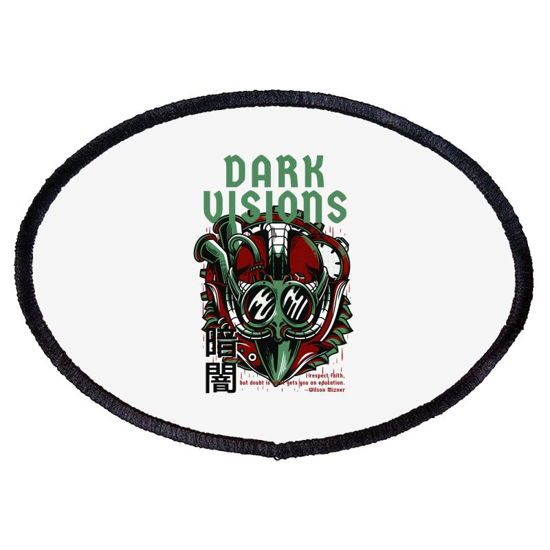 Dark Visions Light Oval Patch | Artistshot