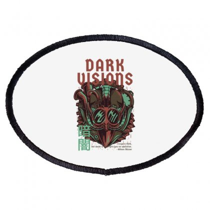 Dark Visions Oval Patch Designed By Daraart