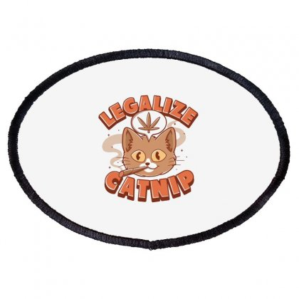 Catnip Oval Patch Designed By Disgus_thing