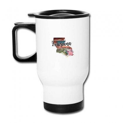 Louisiana In My Soul Travel Mug Designed By Honeysuckle
