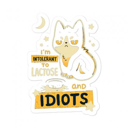 Cat Idiots Sticker Designed By Disgus_thing