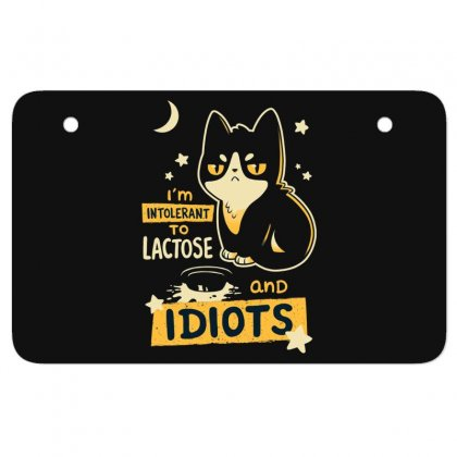 Cat Idiots Atv License Plate Designed By Disgus_thing