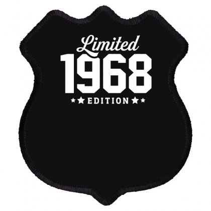 Limited Edition 1968 Funny Shield Patch Designed By Erryshop