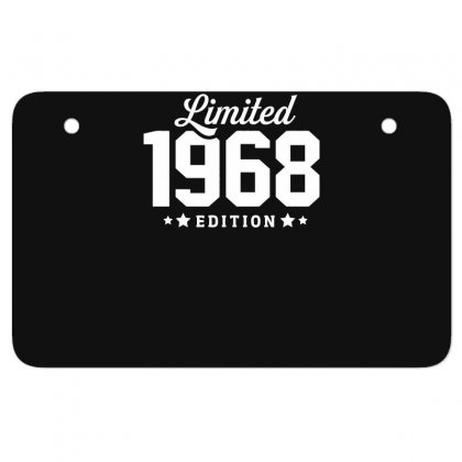 Limited Edition 1968 Funny Atv License Plate Designed By Erryshop