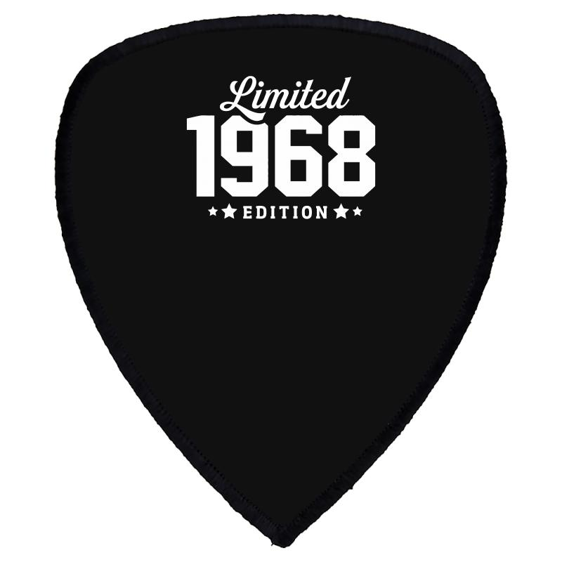 Limited Edition 1968 Funny Shield S Patch   Artistshot