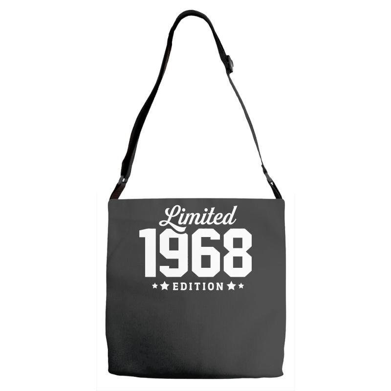 Limited Edition 1968 Funny Adjustable Strap Totes | Artistshot