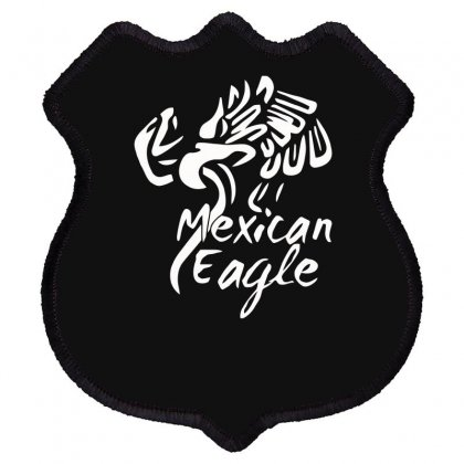 Mexican Eagle Funny Shield Patch Designed By Erryshop