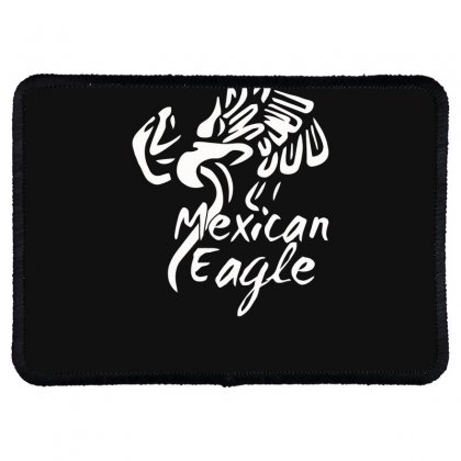 Mexican Eagle Funny Rectangle Patch Designed By Erryshop