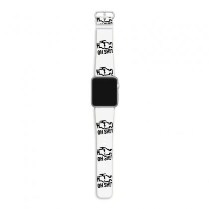 Oh Sh!t Funny Apple Watch Band Designed By Erryshop