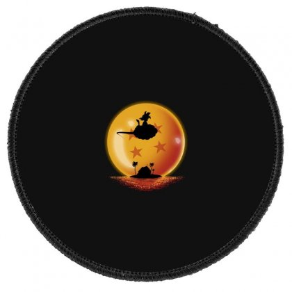 Goku Round Patch Designed By Disgus_thing