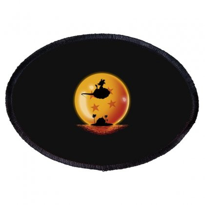 Goku Oval Patch Designed By Disgus_thing