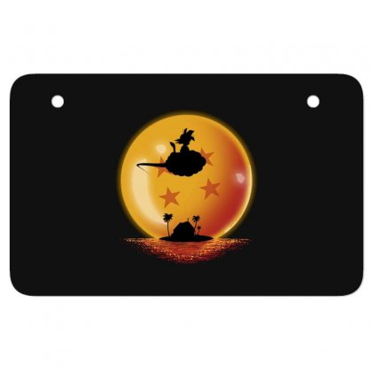 Goku Atv License Plate Designed By Disgus_thing